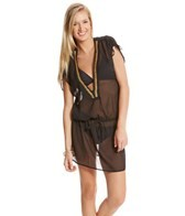 Tommy Bahama Low V-Neck Beaded Tunic