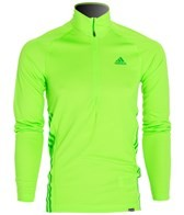 Adidas Men's Terrex Swift Long Sleeve 1/2 Zip Running Tee