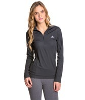 Adidas Women's Terrex Swift Long Sleeve 1/2 Zip Running Tee
