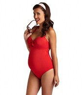 Pez D'or Maternity Capri Halter One Piece