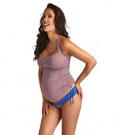 Pez D'or Maternity Martinique Halter Tankini Set