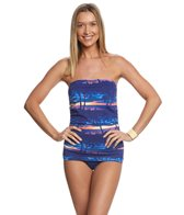 Tommy Bahama Sunset Sky Bandeau One Piece