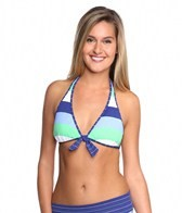 Tommy Bahama Skipper Stripe Reversible Halter Bra Top