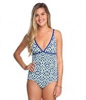 Tommy Bahama Malibu Medallion V-Neck One Piece