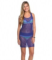 Tommy Bahama Lace Cover Up Short Tank Dress