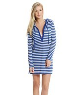 Tommy Bahama Knit Burnout Hoodie Cover Up