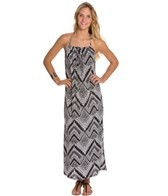 Lucy Love Deco Print Sunset Maxi Dress