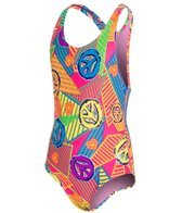 TYR Girls' Peace, Love, Swim Maxfit One Piece