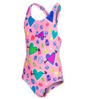 TYR Girls' Heart Beat Maxfit One Piece