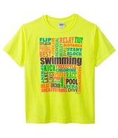 Image Sport Youth Swimming Words T-Shirt