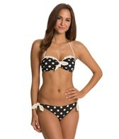 Bettie Page Spots Two Piece Bikini Set