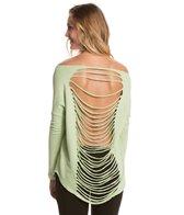 Jala Clothing Sari Terry Long Sleeve Top