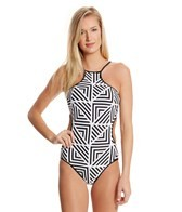 Seafolly Pop High Neck One Piece