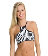 Seafolly Pop High Neck Tank Bikini Top