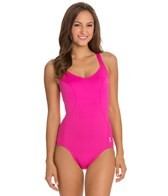 TYR Solid Pink Halter Controlfit