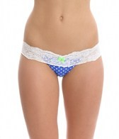 Beach Bunny Haute Dot Skimpy Bottom