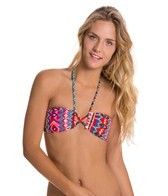 Roxy Morrocan Dream Criss Cross Bandeau Top
