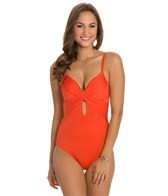 Kenneth Cole Sunset Cliffs Underwire Wrap One Piece