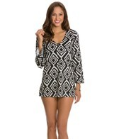Kenneth Cole Tribal Beat V-Neck Tunic