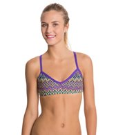 EQ Swimwear Retro Flames Poly Passion Top
