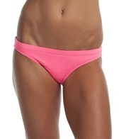 EQ Swimwear Neon Pink Poly Streamline Bikini Bottom