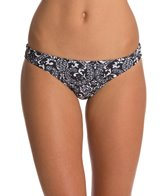 EQ Swimwear Tahitian Black Streamline Bikini Bottom