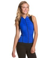 Active Angelz Beatriz Ruched Sleeveless Cycling Jersey
