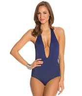 Peixoto Flamingo Strip Back Full One Piece