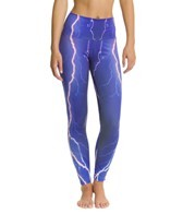 Om Shanti Clothing Violet Lightning Performance Legging