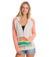 Rip Curl Beach Chicks Zip Up Hoodie