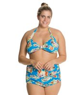 Esther Williams Plus Seaside Classic Two Piece Set