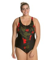 Esther Williams Plus Rouge Spliced Tank One Piece