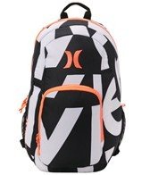 Hurley One & Only Letter Print Backpack