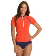Sperry Top-Sider Women's Against The Grosgrain S/S Rashguard