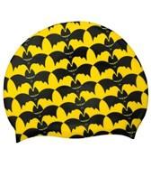 Sporti Bats Silicone Swim Cap