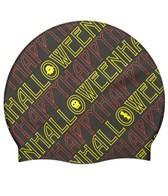 Sporti Happy Halloween Silicone Swim Cap