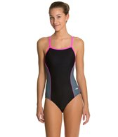Dolfin Team Color Color Block Female V-2 Back