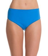 Sunsets Tile Blue High Waist Bottom
