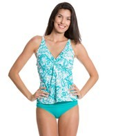 Sunsets Parker Paisley Twist Front E/F/G Cup Tankini Top