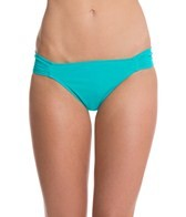 Sunsets Tropical Teal Banded Hipster Bottom