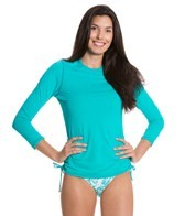 Sunsets Tropical Teal L/S Rashguard