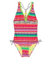 Gossip Girl Tribal Stripe One Piece (4-6x)