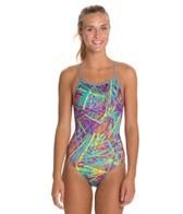 Dolfin Uglies Jagger Print Womens V-2 Back Swimsuit