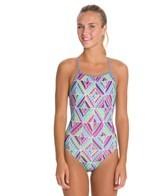 Dolfin Uglies Quinta Print Womens V-2 Back Swimsuit