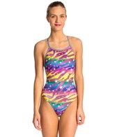 Dolfin Uglies Starlite Print Womens V-2 Back Swimsuit
