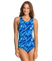 Dolfin Aquashape Moderate Marina Printed Lap Suit