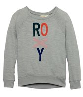Roxy Girls' Multi Roxy L/S Raglan Tee (8-14)