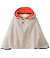 Roxy Girls' Foggy Day Hooded Poncho (2-7)