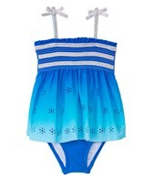 Hula Star Girls' Summer Breeze Skirtini One Piece (2T-4T)