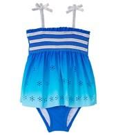 Hula Star Girls' Summer Breeze Skirtini One Piece (4-6X)